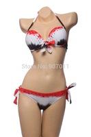 New explosion models women bikini swimsuit sexy colorful prop gather bikini swimsuit Free Shipping DST-233
