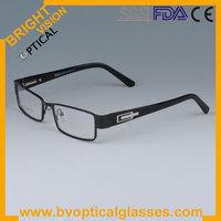 Most hot carving business metal man's full rim eyeglasses frames (1143)