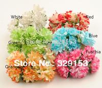 min order $10   many color Artificial  flower ,Handmade paper flowers,Double color chrysanthemum144pcs/lot
