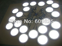 Free shipping 20xPCS  white/warm white dia240mm celling lighting round panel lights 18W  the panel light  HBO Family   hot sale