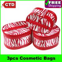 3 pcs/set Different Size Cosmetic Bags Makeup Bag