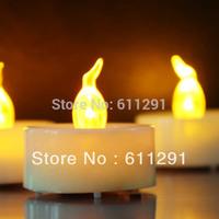 Free Shipping ( 72pcs/set) Wedding Decoration Candles LED Tea light Electric Candle lights