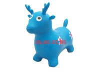 child thickening cow jumping inflatable cattle jumping horse child inflatable toys child sports toy