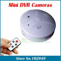 4 in 1 Multi-function Hidden Camera Smoke Detector Model mini DVR Surveillance DV+0GB/8GB/16GB Card Optional Free shipping