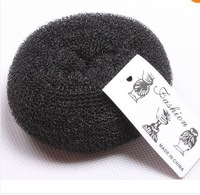 FREE SHIPPING Black Womens Girls HOT Hair Bun Ring Donut Shaper Hair Styler Maker 3 Size S M L