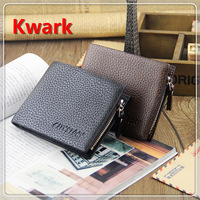 High quality classic men's leather wallet ,style for vertical, short, design with a driver's license slot, a photo slot ST80602