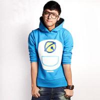 2014 Doraemon sports sweatshirt Doraemon sweatshirt coat lovers couple sweater high quality cotton hooded sweater