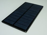 Polysilicon solar panels, 6V 1.6W Solar Panels, Small Solar Panel Power Supply System
