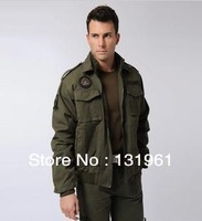 High Quailty! 101 Airborne Division Aviator Jacket,Men's Outdoor Camouflage Military Uniform,Army Outerwear.