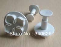 Factory Wholesale Peach Blossom shape mold sugar Arts set Fondant Cake tools 10sets/lot