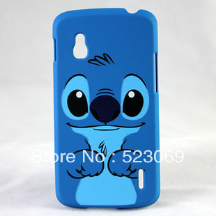 Free Shipping High Quality Cartoon Characters Hard Back Cover Case For Google Nexus 4 LG E960 mobilephone case