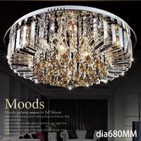 New Ceiling lights Lamp crystal living room led light Crystal lights Free shipping 8005