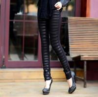 Fashion pants sheepskin genuine leather pants women's trousers pencil pants skinny pants boot cut jeans