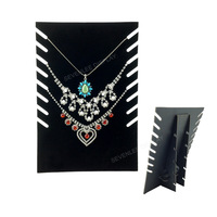 2pcs/lot 19*28cm Velvet Necklace Display,Necklace Stand,Jewellery Display Stand,Jewelry Display Board,Jewelry Stand-SL02
