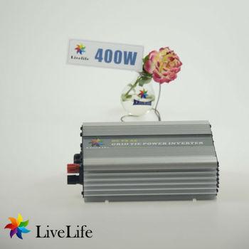 LiveLife micro inverter! 400w solar grid tie power inverter, 20-40v , DC to AC110/120/220/230V