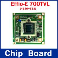 !free shipping! CCTV HD Sony Effio-E 700TVL Camera Board (4140+633) For Security Camera Effio 700TVL CCTV Chipboard OSD menu