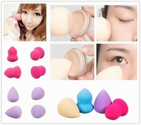 16pcs Makeup Professional Cosmetic  Flawless Blender Foundation Puff Sponges Tear Drop/Hour Glass make up tools face cleaner