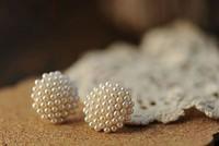 E10031  Fashion   pearl earring fashion fake pearl earrings