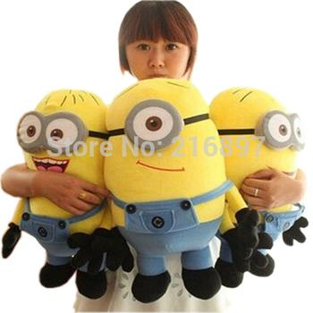 Big Size 50CM 3D Despicable ME Very Big Movie Plush Toy 20Inch Minions Toys & Hobbies One PCS