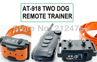 Free shipping Aetertek AT-918-550S-2 10 Levels Waterproof Rechageable 550M Remote 2 Dog Electric Training Anti Bark Shock Collar