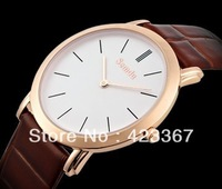 Fashion New Women Quartz watch Switzerland Brand Ultra thin 6.4mm Brief Causal Sapphire Genuine leather band Waterproof 3ATM
