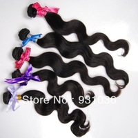 malaysian virgin human hair weaves  body wave 3pcs lot 6a unprocessed virgin hair 4inch - 24inch