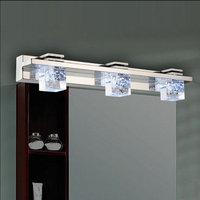 Led Crystal Stainless Steel Toilet Bathroom Mirror Lights Lamp bj64