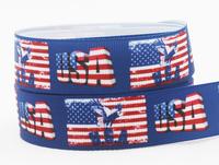 "Free shipping 7/8"" (22mm) USA Grosgrain printed ribbon Gift packing ribbon DIY cartoon ribbon 50 yards/roll XZD--1762"