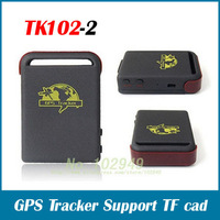 NEW GPS Tracker, Vehicle GPS Tracker TK102-2 Provide peace-of-mind for businessmen Car tracking & Storage number free shipping