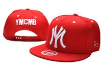 Hot sale ! YMCMB snapback baseball cap  adjustable hip-hop hipster street dance MY hat letters along the sun hat