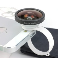 Phone Camera Fisheye Lens for iPhone 4/4s IPAD Samsung Wide Angle Fisheye Lens Upgrade