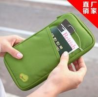 1pcs 2015 new free shipping Fashion passport wallet  document bag  multifunctional travel hand bag  lady  woman's handbag
