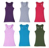 NVBX-45  Women's Spaghetti Strap Vest Candy Color Small Strap Top  Plus Size Basic Tank New design