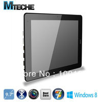3G Windows8 /Windows7 Dual-Core 9.7inch tablet  4G RAM 64GB  Capacitive Intel Atom N2600  Freeshipping
