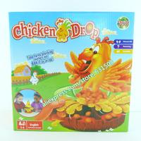 family fun chicken drop game Popular Desktop Games Hot sell child intelligence toys