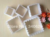 Factory Wholesale10sets/lot Square Mold Sugar Arts Set Fondant Cake Tools