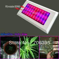 Brand-new Full spectrum Led Grow Light 300W,100pcs LEDs 3watt  IR plant grow lamp panel for medicinal flowering,freeshipping