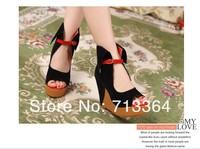 Fashion metal chain 2013 foam paltform with the single shoes women's shoes