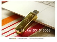 Gold Bars USB Flash Drive 8GB 32GB 64GB 128GB 256GB 512GB Free Shipping