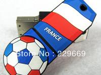 Free Shipping hot World Cup European Cup, England, Germany, France, Dutch, Italy, football team usb flash drive 1-32GB