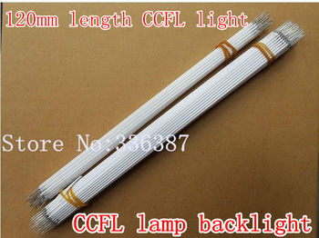 Free shipping 10pcs 120MM length LCD CCFL lamp backlight , CCFL backlight tube,120MM*2.0mm, 120MM length CCFL light