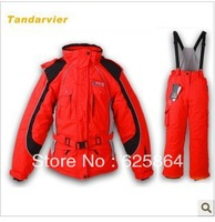 New Arrival Ski suit set child female child professional outdoor cold-proof thermal windproof ski suit outdoor jacket