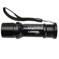 Mini LED Torch CREE Q5 LED Flashlight  Free Shipping Wholesale