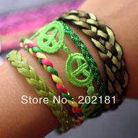 Free Shipping 3pcs/lot  2013 new Colorful Magnetic Hipanema Bracelet brazilian bracelet hipanema style bracelet