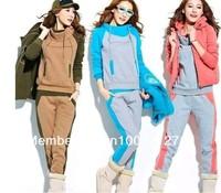 New arrived thin set women jacket coat sports Leisure hoodie set,fashion hoodies, sweatshirts ,(sweater, pant/set)!