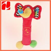 2013 Best selling funny  sounding plush  elephant, plush baby toy, plush animal toy