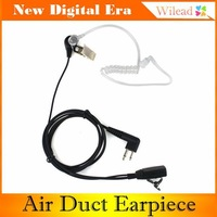 2-Pin Noise Reduction Concealment Air Duct Earpiece for Motorola GP88 GP300 GP2000 CT150 P040 PRO1150 CLS1110 XTN500 C002