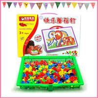 358 Pcs Mosaic Peg Board Set Educational Toys for Kids free shipping
