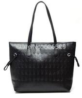Free Shipping women's handbag cool fashion vintage skull designer handbag female casual street style print leather big tote bags