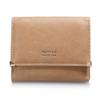 2012  New Special PU Leather Wallet   Short Sweet Wallet   Purse For Women Free Shipping